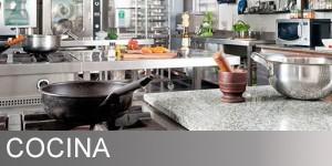 productos específicos para limpieza y mantenimiento de la cocina