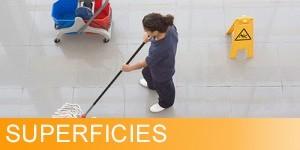 Productos especiales para la limpieza de cualquier superficie